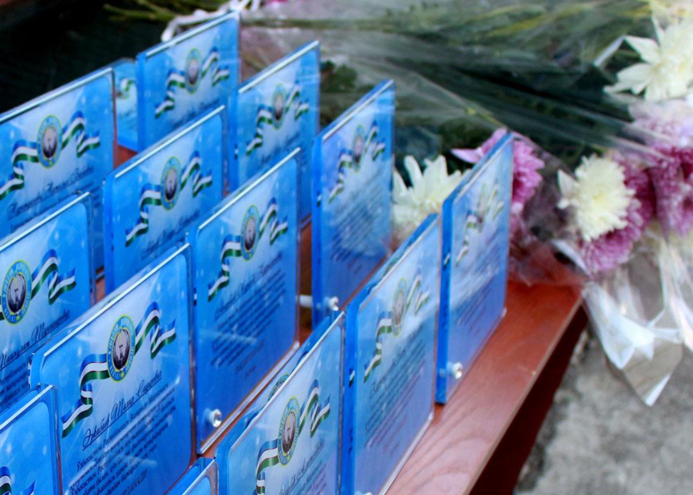 В системе Узкомгосрезерва прошли мероприятия, посвященные 27-летию независимости Республики Узбекистан