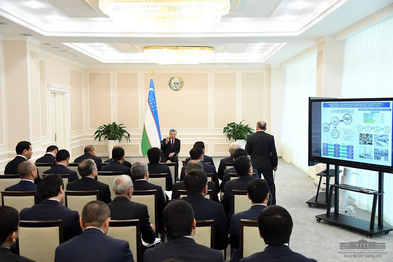 Toshkent shahridagi investitsiya loyihalari bo'yicha topshiriqlar berildi