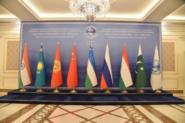 Заседание совета глав правительств государств-членов ШОС в Ташкенте