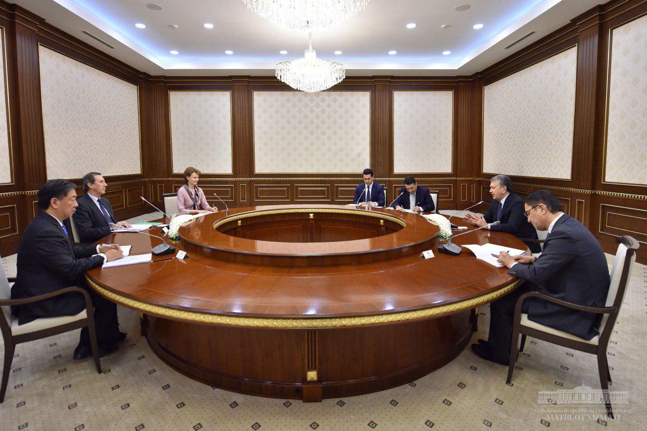 Oʻzbekiston Prezidenti Jahon banki delegatsiyasini qabul qildi