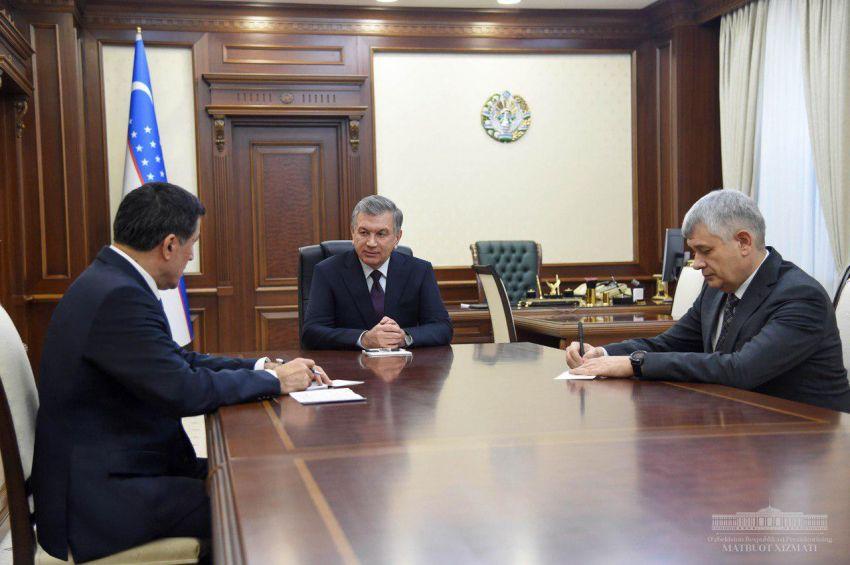 Президент Республики Узбекистан принял Генерального секретаря Шанхайской организации сотрудничества